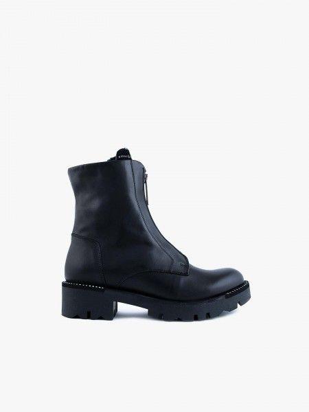Combat Boots com fecho
