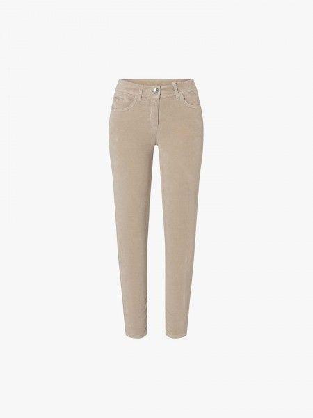 Calças skinny fit de cintura baixa