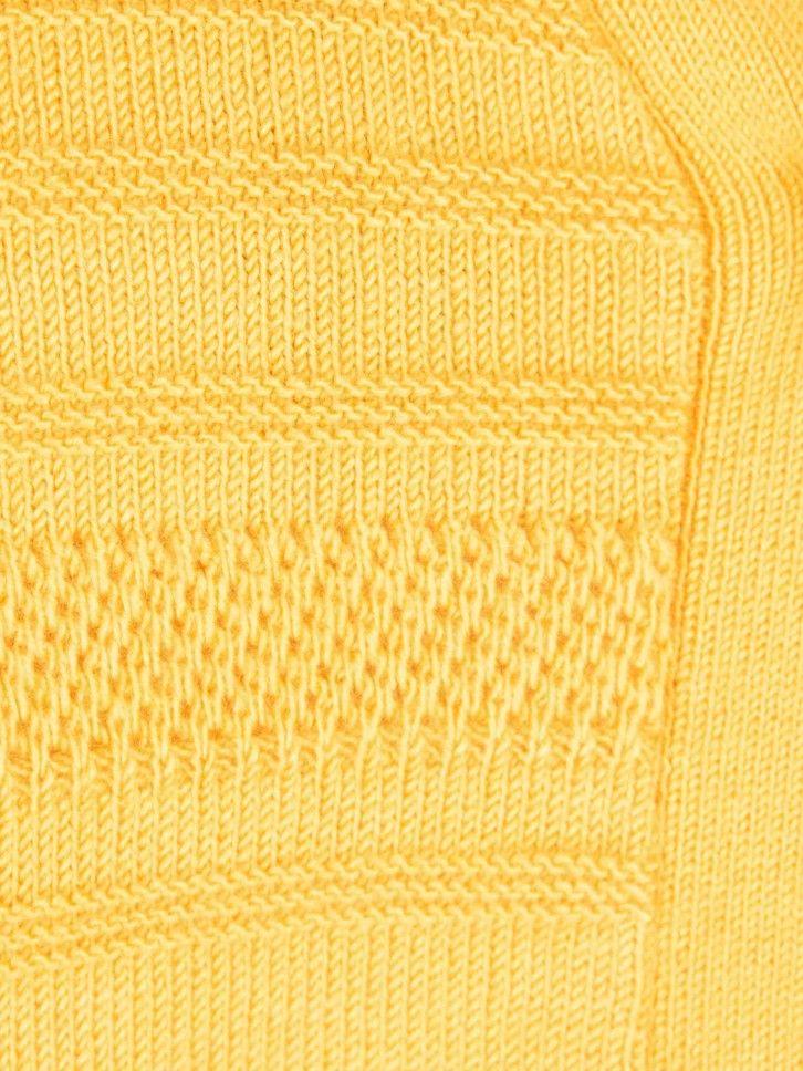 Casaco de malha com textura