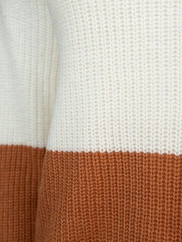 Camisola bicolor