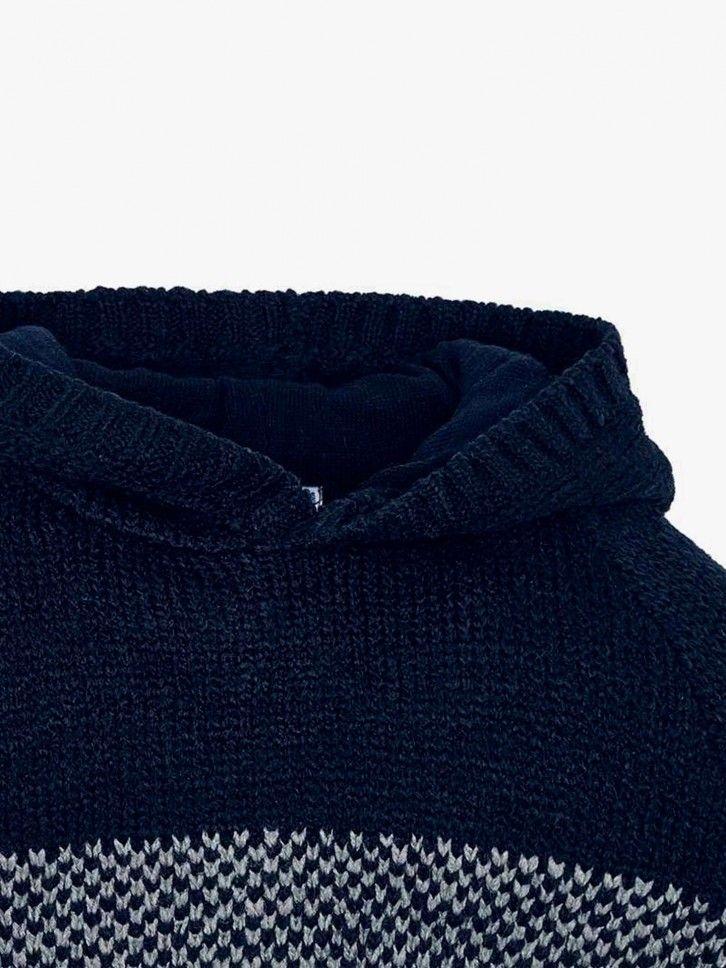 Camisola de malha com capuz