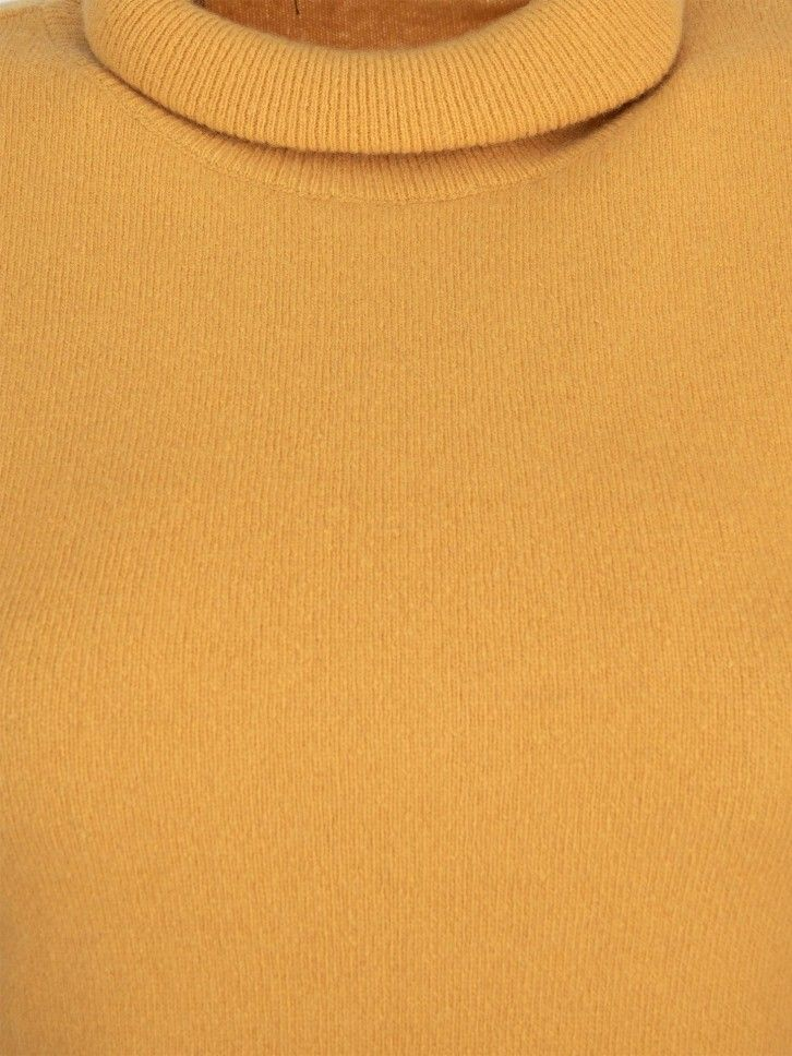 Camisola meia gola