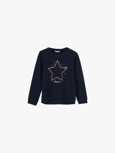 Sweatshirt estampada