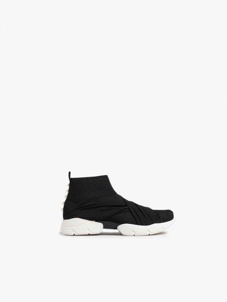 Sock Sneaker com faixas