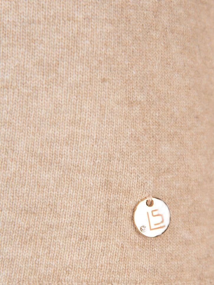 Camisola de malha efeito drapeado