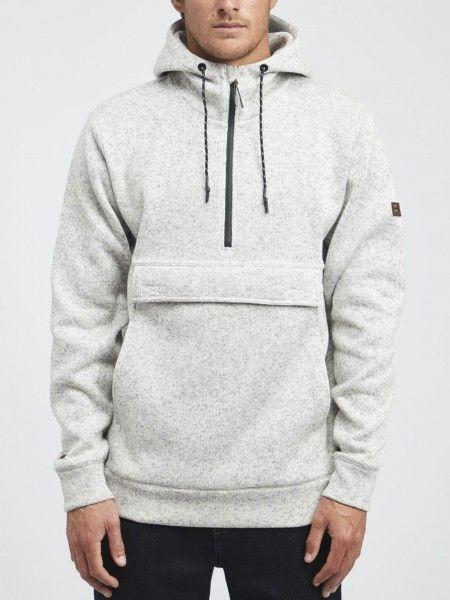 Sweatshirt com fecho de correr