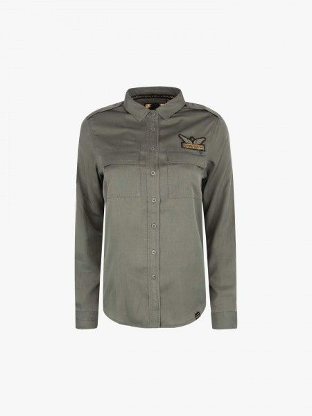 Camisa com patch