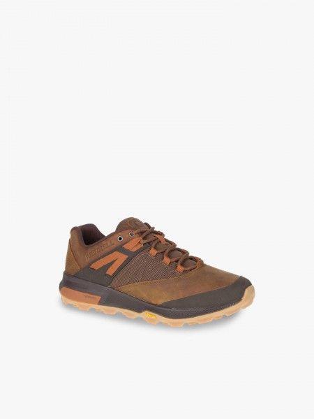 Sapatos desportivos com parte em malha