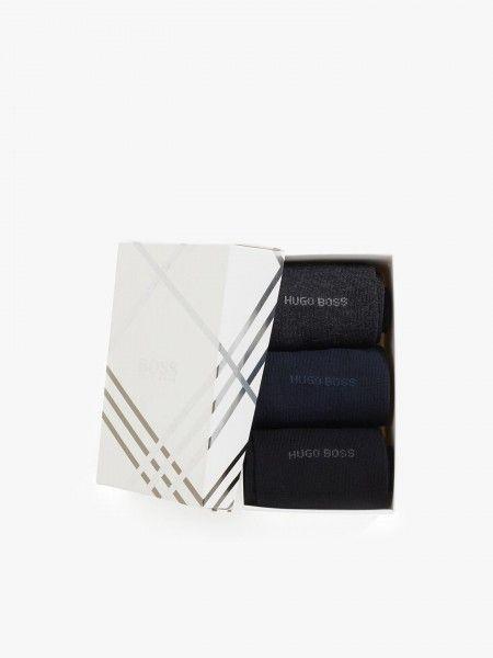Pack 3 pares de meias