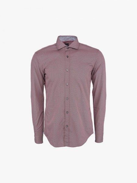 Camisa com micro padrão
