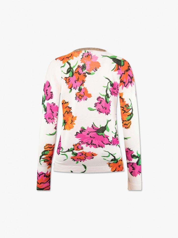 Pullover estampado floral