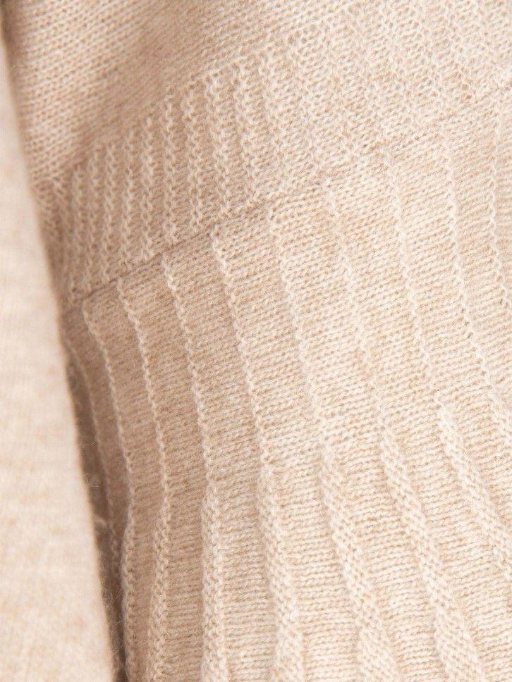 Camisola mangas plissadas