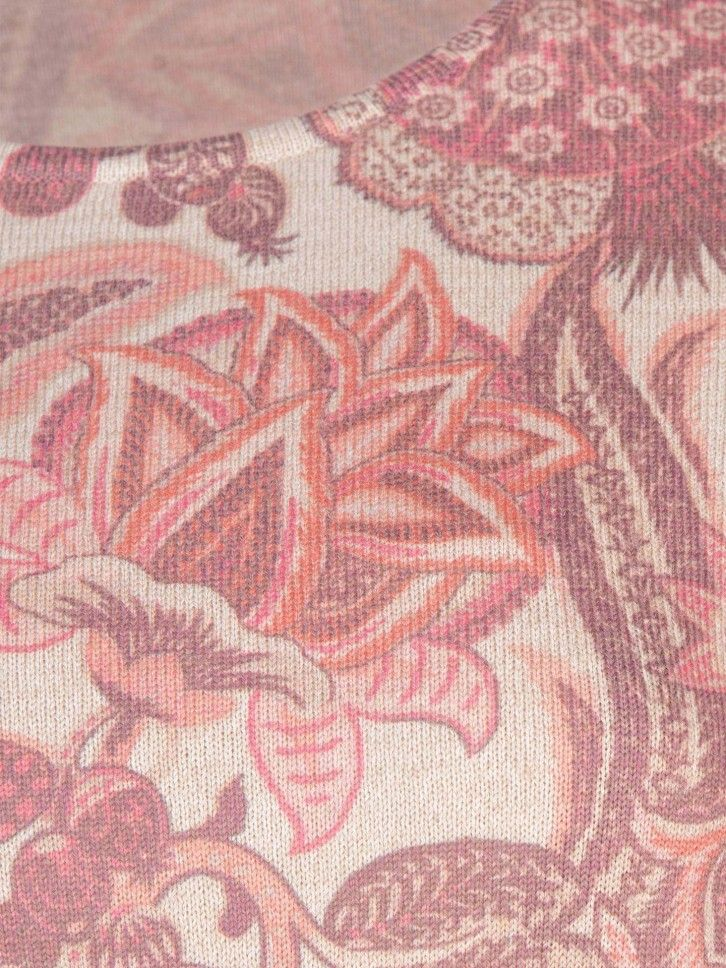 Camisola estampado floral