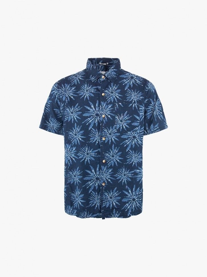 Camisa regular fit estampada