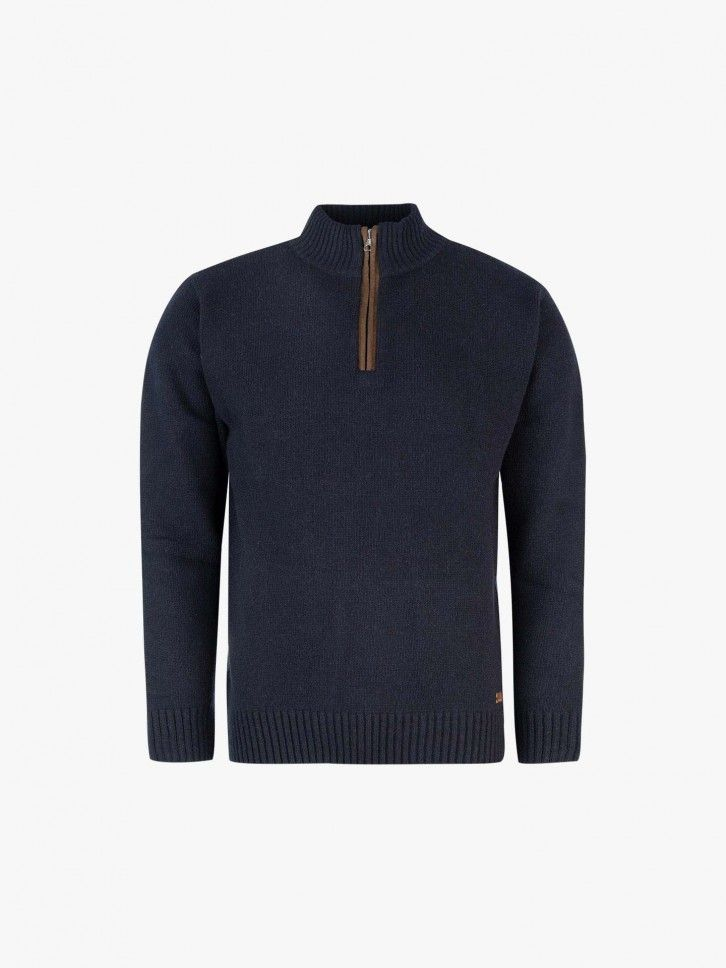 Pullover bicolor