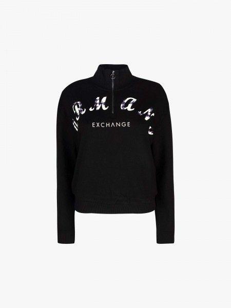 Sweatshirt com fecho