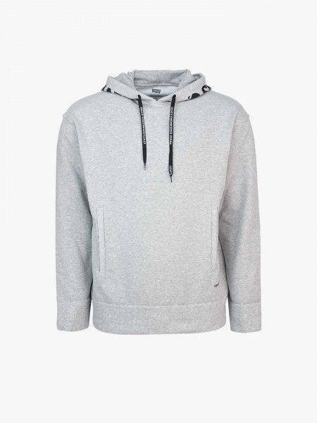 Sweatshirt capuz estampado