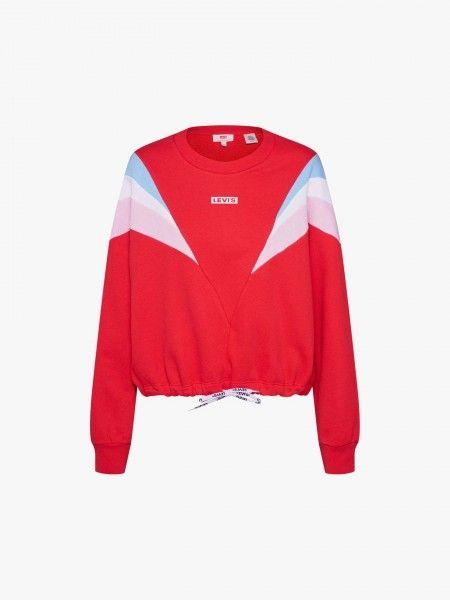 Sweatshirt efeito abalonado