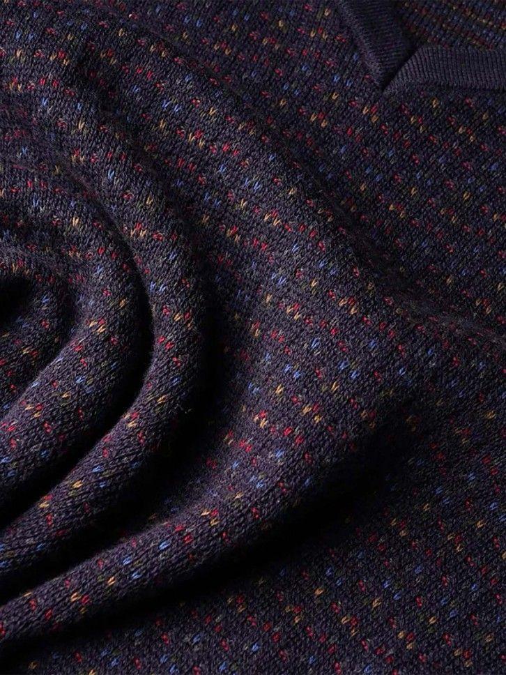 Pullover micro padrão