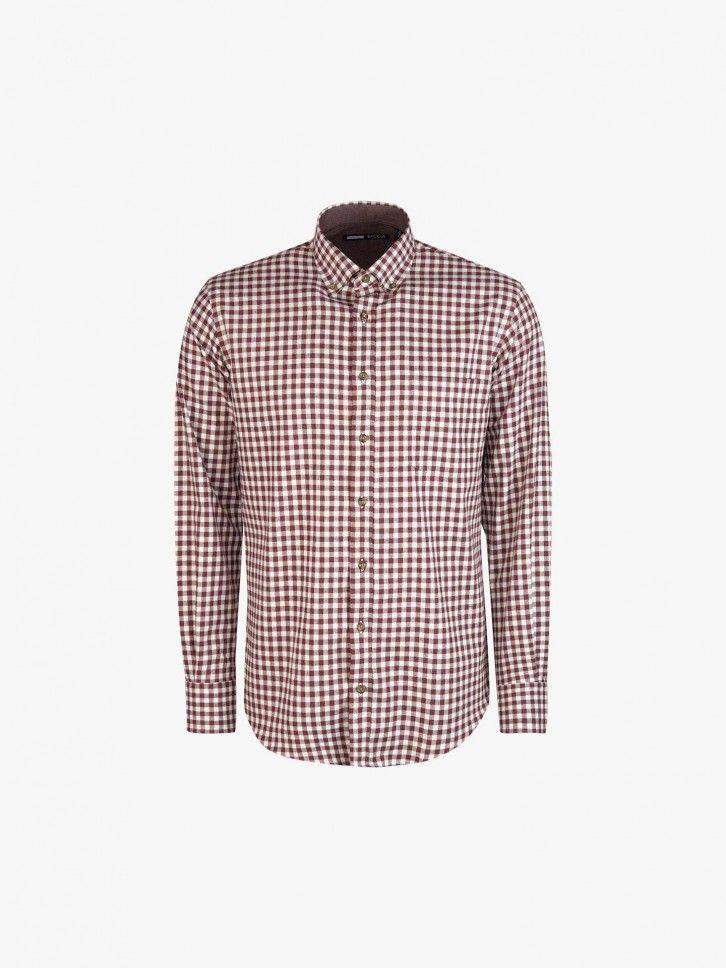 Camisa ao xadrez vichy