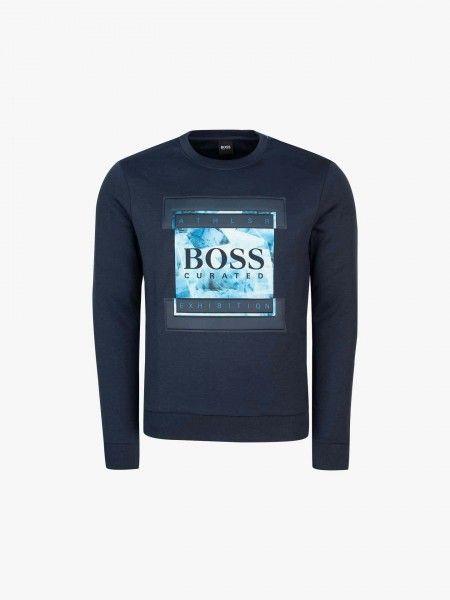 Sweatshirt de algodão regular fit