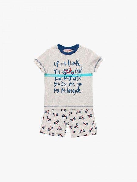 Pijama de calções