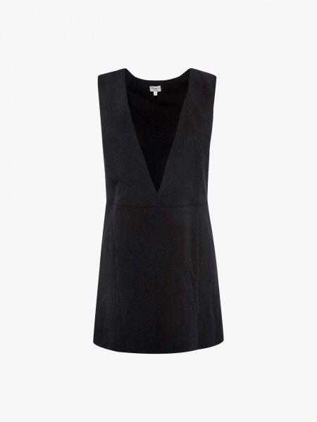 Vestido curto decote em V