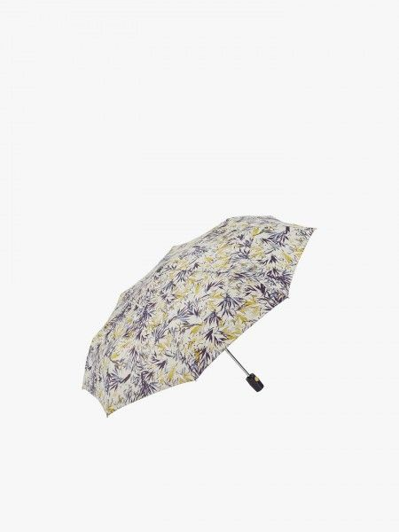 Guarda-chuva com estampado floral