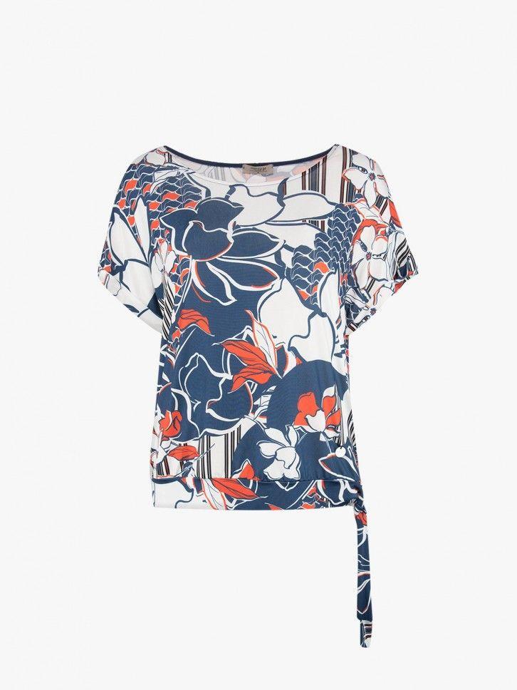 T-shirt com laço