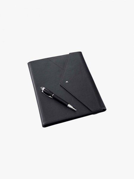 Conjunto pasta e caneta