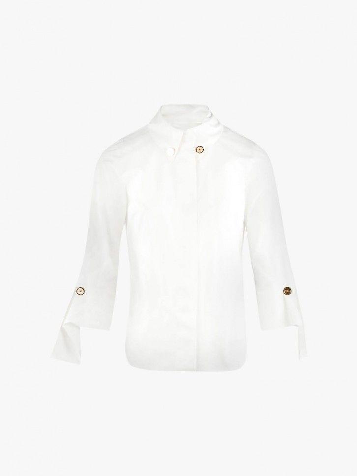 Camisa punhos abotoados