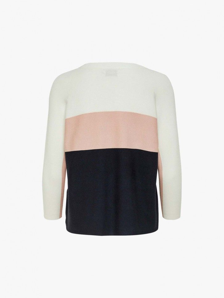 Camisola color block