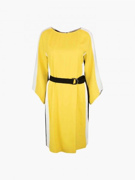 Vestido color block