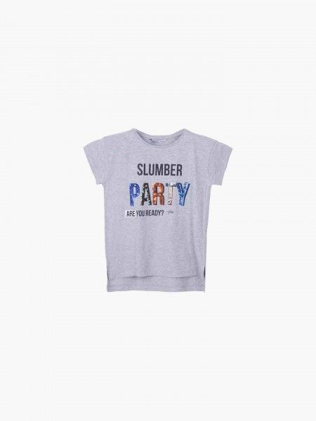 T-Shirt assimétrica