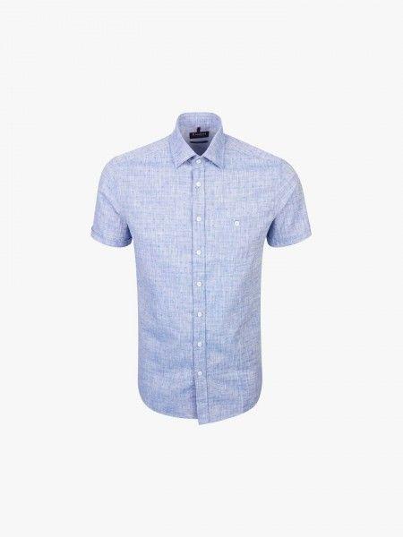 Camisa de manga curta tailored fit