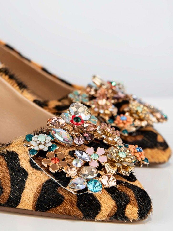 Sapatos animal print
