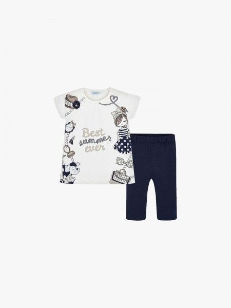 Conjunto T-shirt e leggings