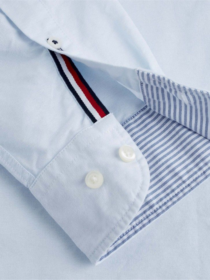 Camisa regular fit de algodão