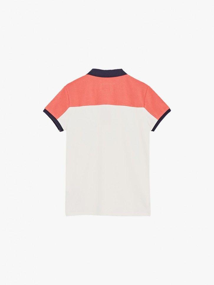 Polo color block