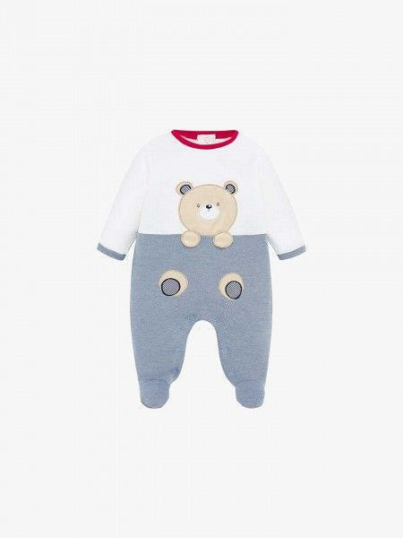 Babygrow color block