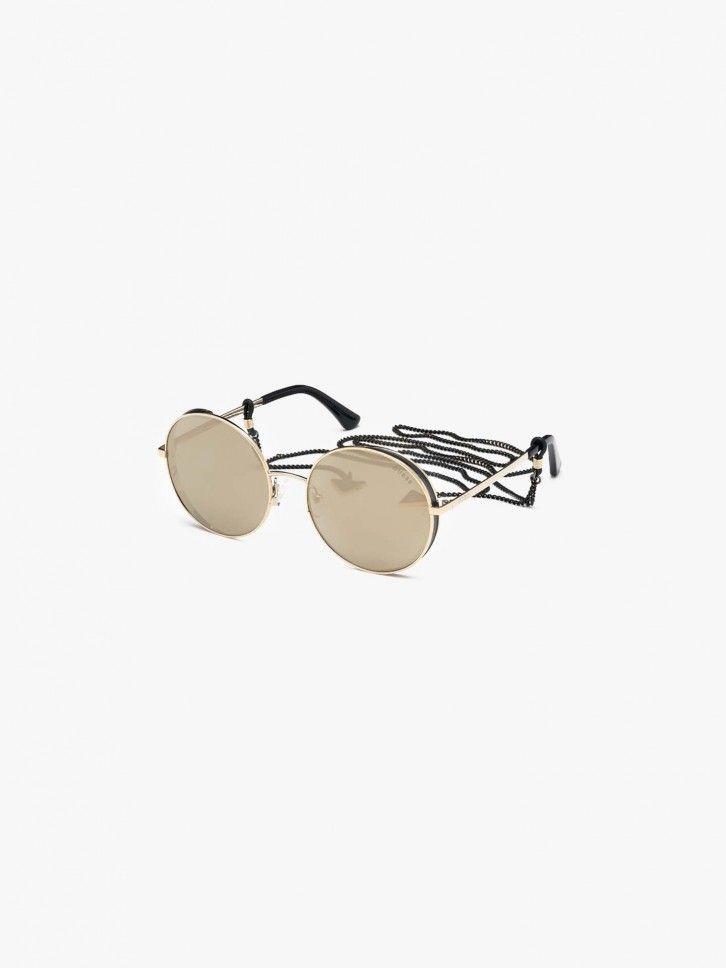Óculos de sol com corrente