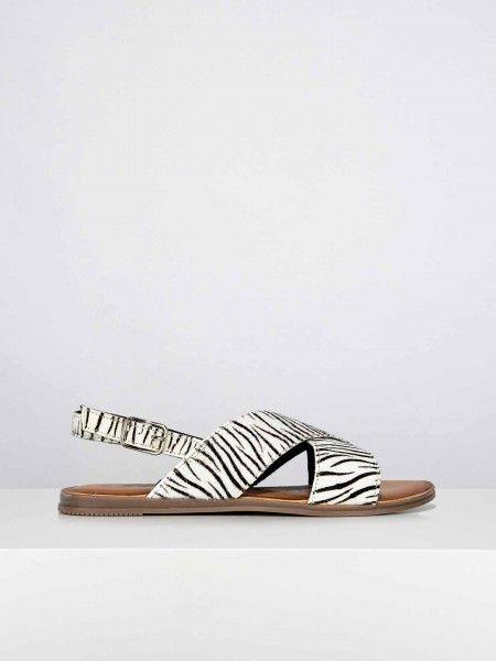 Sandálias animal print