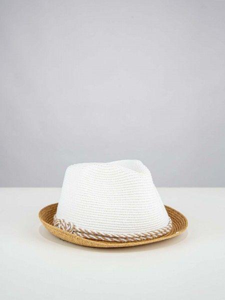 Chapéu bicolor