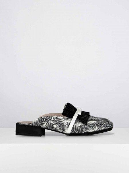 Loafers com padrão