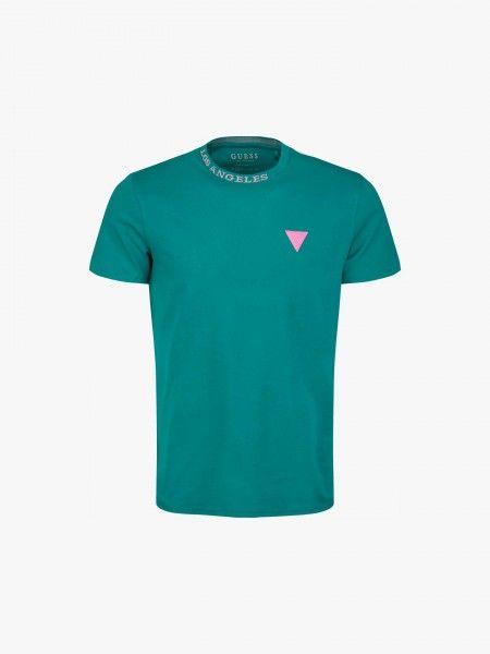 T-shirt regular fit com patch