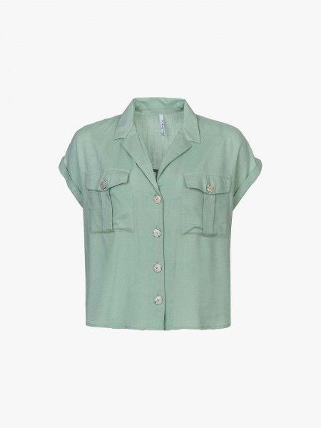 Camisa cropped