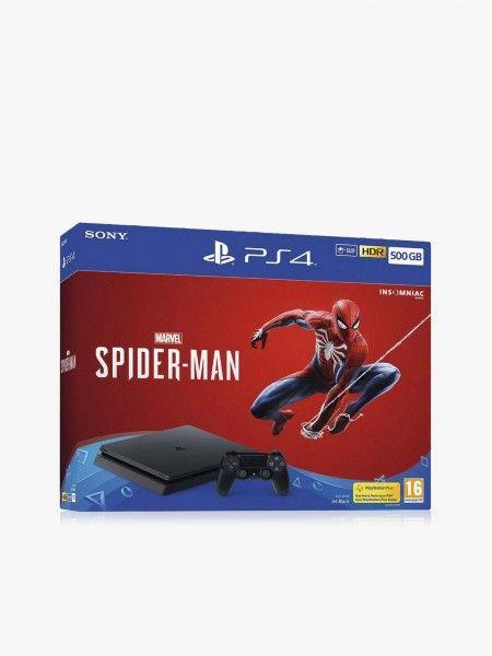 PlayStation 4 500GB + Jogo Spider Man