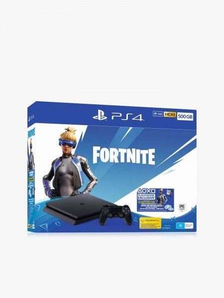PlayStation 4 500GB + Jogo Fortnite