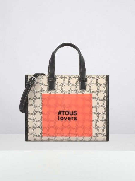 Shopping bag estampada