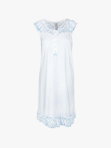 Camisa de noite bordada